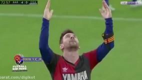 حرکت به یاد ماندنی مسی برای احترام به دیگو مارادونا