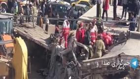 برخورد مرگبار کامیون با منزل مسکونی در پردیس