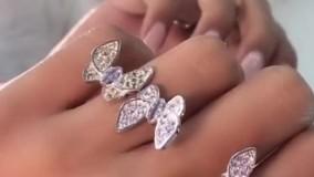 جلوه گری پروانه های دوقلوی دلربا در دستان شما