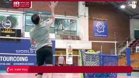 تمرینات متداول دریافت سرویس والیبال