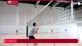 بالا بردن تکنیک دفاع روی تور والیبال با تمرینات متداول