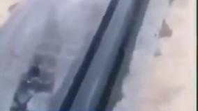 تخریب سنگ قبر دو قربانیِ حادثه هواپیمای اوکراینی