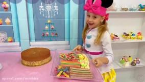 کافه کیک ناستیا : ناستیا و بابایی