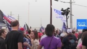 تجمع های اعتراضی هواداران ترامپ در آریزونا