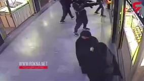 سرقت مسلحانه مردان سیاهپوش از پاساژ طلای سراوان