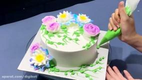 مدل و ایدهای جالب برای کیک آرایی در خانه