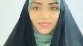مدل زیبای بستن روسری بدون گیره