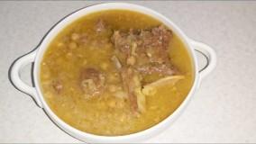 طرز تهیه نخود آب یک غذای بسیار مقوی و خوشمزه  همراه با خاله سیم