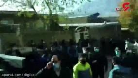 انفجار هولناک گاز در خرم آباد؛  مردم به خیابان آمدند