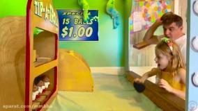 ناستیا و بابایی : خانه آبنباتی مرموز
