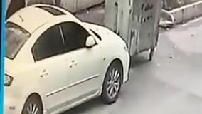 فیلم سرقت مزدا 3 در سه ثانیه
