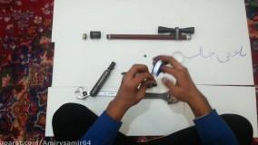 ساخت تفنگ بادی دست ساز