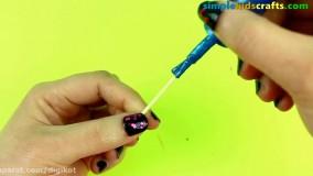 اموزش ساخت 15 کاردستی آسان برای عروسک های فروزن و السا