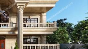 طراحی و ساخت ویلای کلاسیک در مازندران عباس آباد