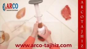 بیفتک کوب دستی با قابلیت تزریق مواد دلخواه داخل بافت گوشت