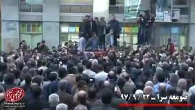 احمدی نژاد روحانی را به مناظره دعوت کرد