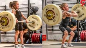 توانایی خارق العاده یک دختربچه در وزنه برداری