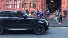 دریبل رونالدینویی ستاره لیگ برتر با ماشین !