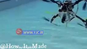 پهپادی که قابلیت حرکت در زیر آب را هم دارد !