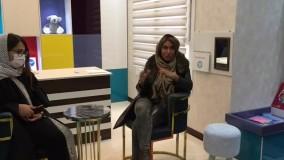نیلوفر رجبیان بازی درمان کودک در قیطریه