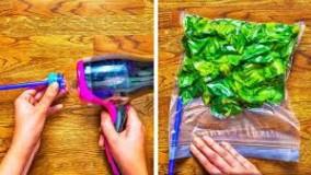 40 ترفند برای بریدن و پوست گیری سبزیجات و میوه ها