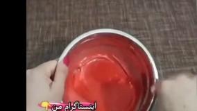 کیک هندوانه ی تابه ای