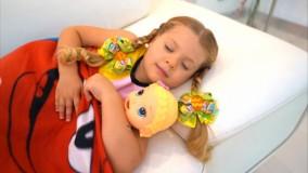 برنامه کودک سرگرمی دیانا روما با عروسک هاش