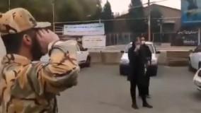 لحظه ناب مواجهه یک سرباز با مادرش