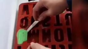آموزش و ایده ی درست کردن شمع حروف برای شب یلدا