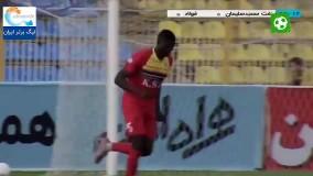 خلاصه بازی نفت مسجدسلیمان 1 - فولاد 0