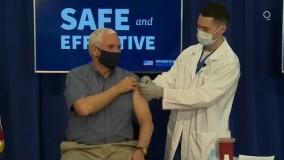 مایک پنس واکسن کرونا دریافت کرد