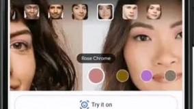 قابلیت جدید گوگل ؛ تست آرایش روی پوست خودتان