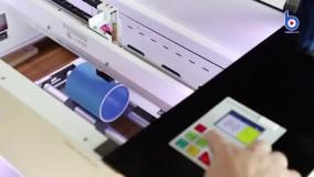 چاپ لیزری روی لیوان تبلیغاتی ماگ