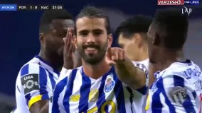 گل اول پورتو به ناسیونال