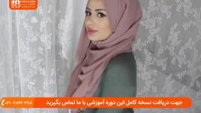 5 روش بستن شال و روسری مدل حجاب