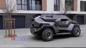 هیولایی که نسل بعدی خودروهای جنگی است