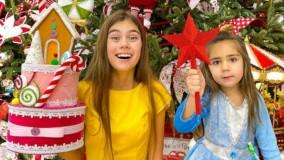 ناستیا و میا : تزئین درخت کریسمس و انتخاب اسباب بازیهای سال نو