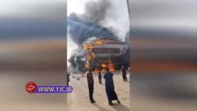 آتش سوزی مهیب در رستورانی در پایتخت عربستان سعودی