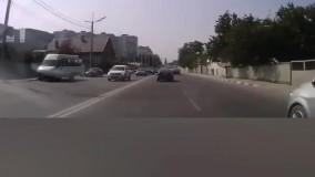 تصادف ماشین های سنگین | بارسی