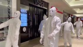 اعتراض عجیب مخالفان واکسن و ماسک در کانادا
