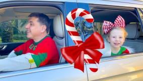ناستیا و استیسی ؛  سفر کریسمسی ناستیا و خانواده