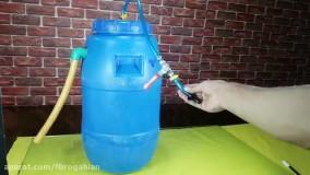ایده ساخت دستگاهی ساده برای تولید بیوگاز در مقیاس خانگی و بهرمندی از گاز رایگان