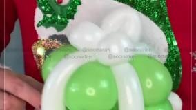 بادکنک آرایی کریسمس