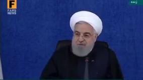 روحانی خطاب به مجلس : بگذارید کارمان را بکنیم