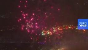 آغاز سال ۲۰۲۱ در استرالیا با مراسم آتشبازی