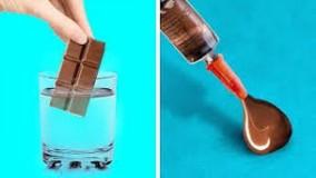 ایده های تزیین شکلات و کارامل ؛  ترفندهای شکلاتی