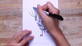 ایده های عالی برای نقاشی استفاده از کاسه ، پلاستیک حبابی ! و...