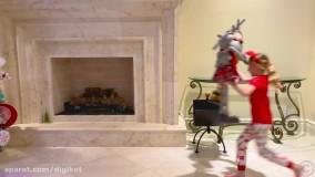 ناستیا و بابایی جدید ؛  آهنگ کریسمس برای بچه ها درباره ناستیا و بابانوئل