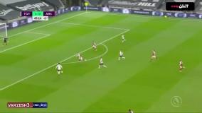 خلاصه بازی تاتنهام 2 - آرسنال 0