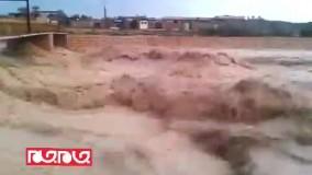 فیلمی دیگر از سیل در برازجان استان بوشهر
